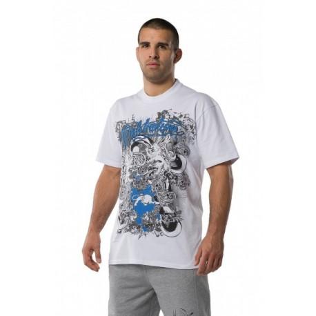 Fightnature Shirt Predator white