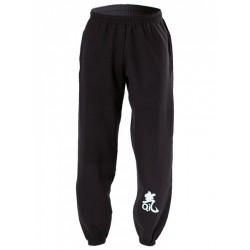 Sweatpants with Qi printing