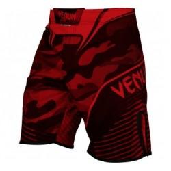 Fightshort Veno Camo Hero - Rouge/Noir