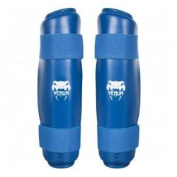 Venum Karate Shin Pad & Foot Protector Ekf Approved Blue
