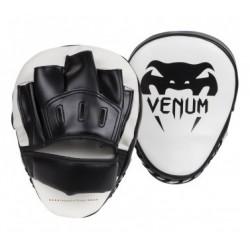 """Venum """"Light"""" Focus Mitts - Ice/Black Pair"""