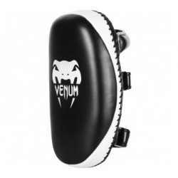 Venum Light Kick Pad - Cuir Skintex (Paire) -matte/Noir