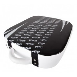 "Venum ""Absolute"" Square Kick Shield - Skintex Leather - Black/Ice"