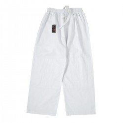 Judo Trousers. White Cotton