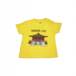 Baby T-shirt Karate Temple