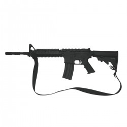 TRAINING RIFLE. THERMOPLASTIC RUBBER
