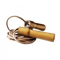 LEATHER SKIPPING ROPE. PROFESSIONAL. 2,85 M