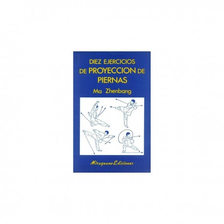 Livre : 10 Exercises of projection of legs