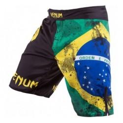 """Venum """"Brazilian Flag"""" Fightshorts - Zwart"""