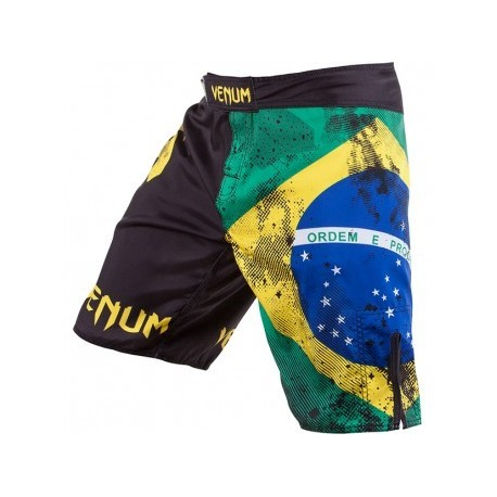 "Venum ""Brazilian Flag"" Fightshorts - Black"