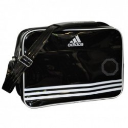 adidas Shiny Sports Bag Black / White Large