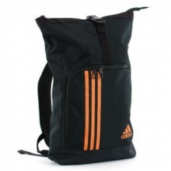 Sac de sport militaire Adidas Training Noir / Orange
