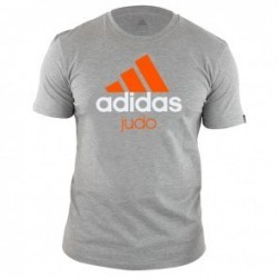 Adidas Community T-Shirt Grey / Orange Judo