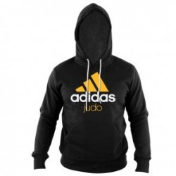 Adidas Community Hoodie Black / Orange Judo