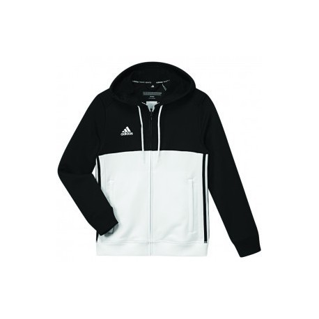 Adidas T16 Team Hoodie Black / White Young