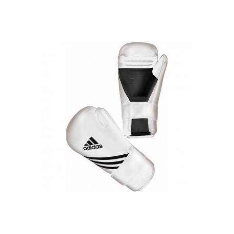 Adidas Semi Contact Gant de Boxe Blanc Budo House
