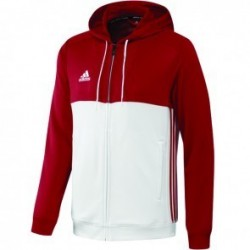 Adidas T16 Team Hoodie Red / White