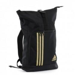 Adidas Training Military Sporttas Zwart/Goud Large