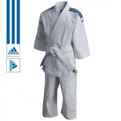 adidas Judopak J200 Evolution Blanc/Bleu
