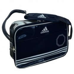 Adidas Shiny Sports Bag Blauw/Wit/Zilver Large