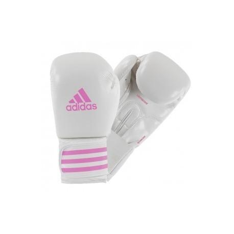 Adidas Female Power 200 (kick)Boxing Gloves White/Pink