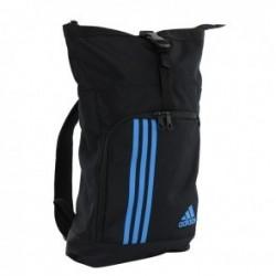 Adidas Training Military Sporttas Zwart/Blauw Large