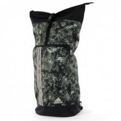 Adidas Training Military Sporttas Camouflage Zilver