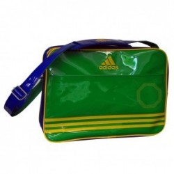 46/5000 Adidas Shiny Sports Bag Green / Blue / Yellow Large