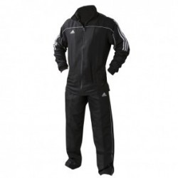 Survêtement adidas Team Track Noir / Blanc