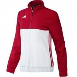 Blouson adidas T16 Team Femme Rouge / Blanc