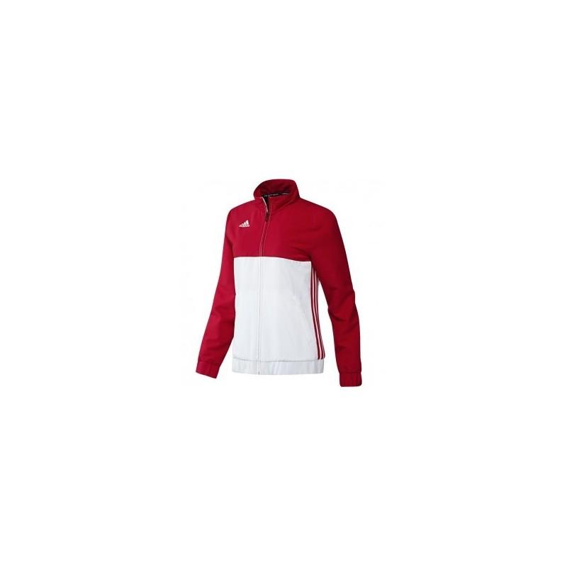 T16 House Team Blouson adidas Budo Femme Rouge Blanc oQCBxerdWE