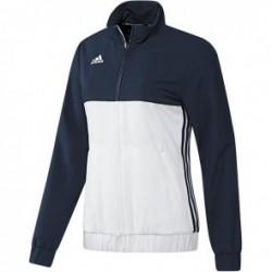 Blouson adidas T16 Team Femme Bleu / Blanc