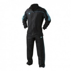 adidas Team Track Training Pants Black / Blue