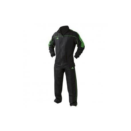 adidas Team Track Training Jacket Black / Green