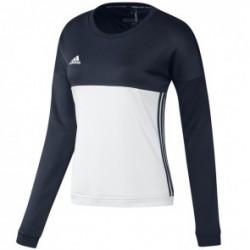 adidas T16 Crew Sweater Women Blauw