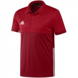 Polo adidas T16 ClimaCool Homme Rouge