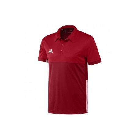 adidas T16 ClimaCool Polo Men Red