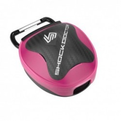Shock Doctor Mouthguard Storage system Pink