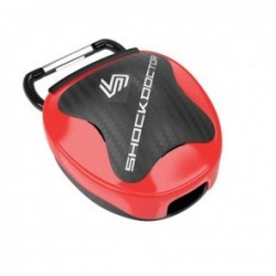 Shock Doctor Mouthguard Storage system Red