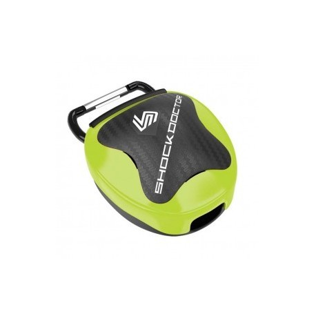 Shock Doctor Mouthguard Storage System Green