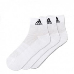 adidas Performance Ankle chaussettes 3pair blanc taille 42/46