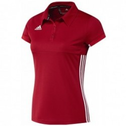 adidas T16 Team Polo Femme Rouge
