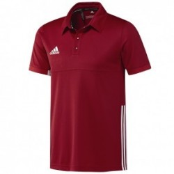 adidas T16 Team Polo Homme Rouge