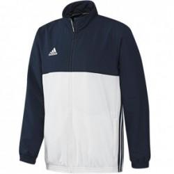 Blouson adidas T16 Team Homme Bleu / Blanc