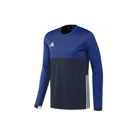 adidas T16 ClimaCool Long Sleeve Tee Men Blue