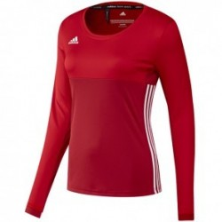 T-shirt manches longues adidas T16 ClimaCool Femme Rouge