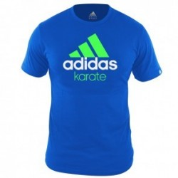 Adidas Community T-Shirt Blue / Green KarateZoom
