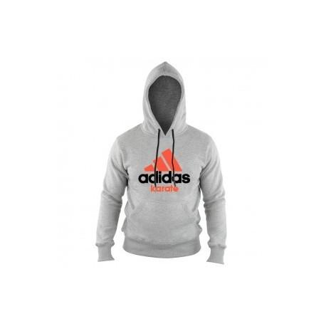 Adidas Community Hoodie Gray / Orange Karate