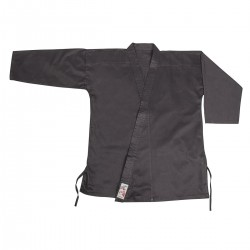 N Kempo Jacket. Black. Cotton
