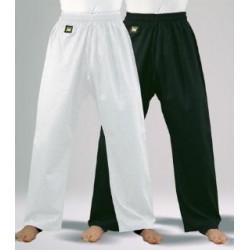 Cotton 8 oz pants Black